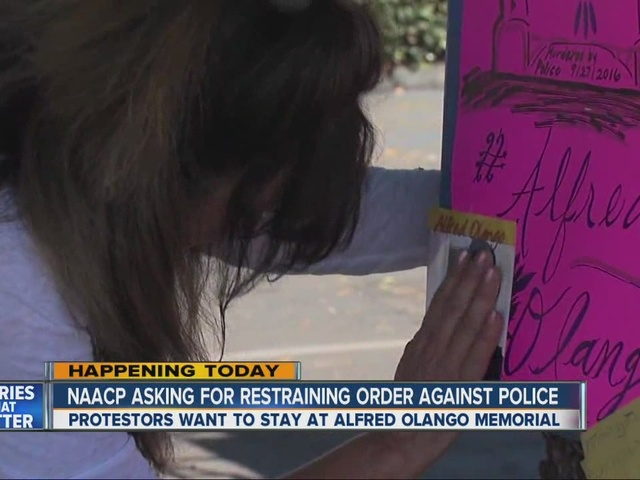 NAACP demands restraining order against El Cajon police in Alfred Olango…
