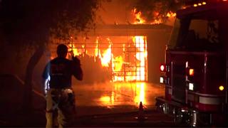 Flames engulf Chula Vista home, dog killed