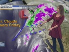 Forecast: Rain and Possible Thunder Friday