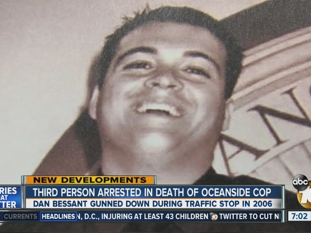 Man arrested in shooting 2006 death of Oceanside police officer
