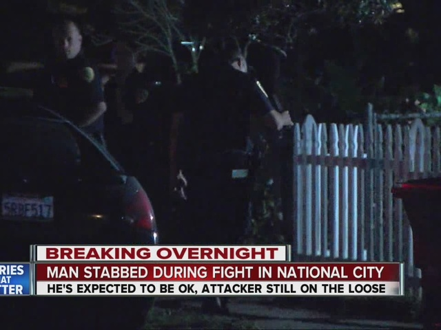 Man stabbed, critically hurt, during argument on National City street