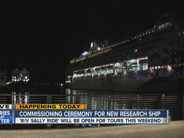 Sally Ride research ship to be commissioned Friday