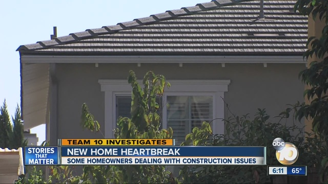 New Home Construction What About Defects 10news Com
