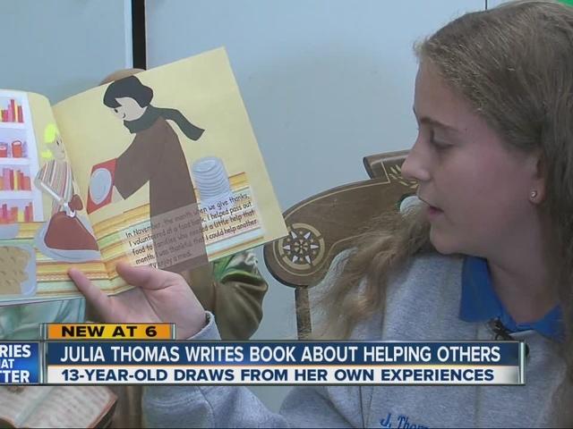 Kids Doing Good Things: Julia Thomas
