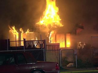 Sospechan incendio de una casa fue por venganza