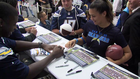 Over 800 pints collected at Chargers Blood Drive