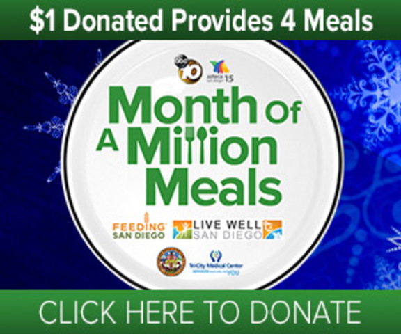 You can help! Donate to Month of a Million Meals
