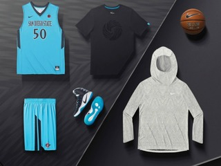SDSU to wear special turquoise uniforms tonight