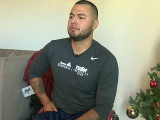 Marine opens up about surviving IED blast