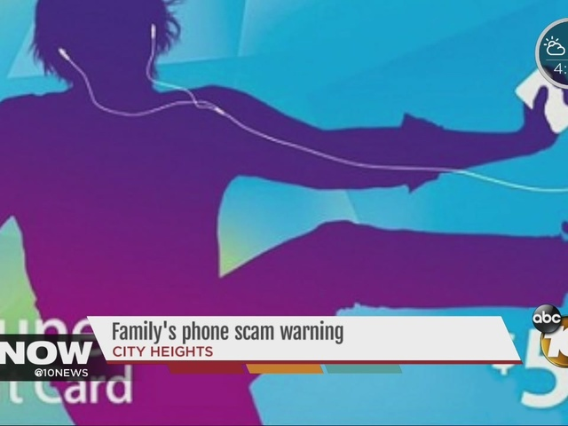 Local family duped in IRS gift card scam