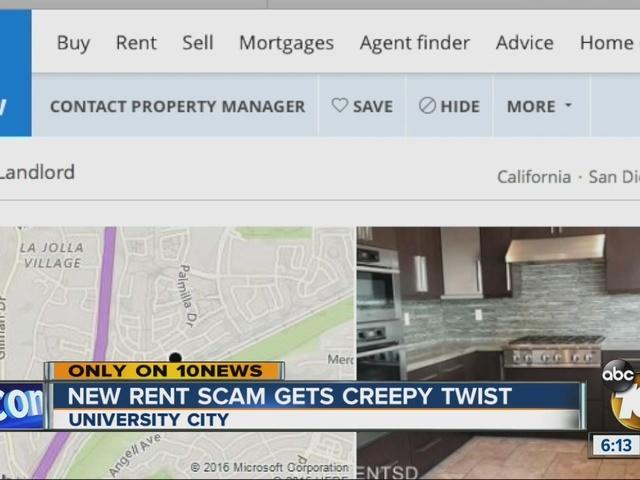 New rent scam gets creepy twist