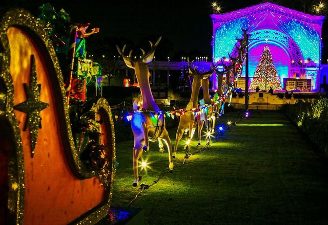 Annual 'December Nights' holiday festival opens at Balboa Park ...