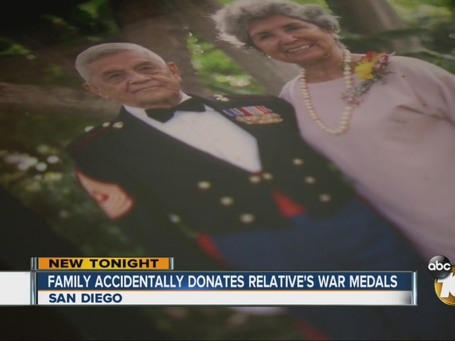 Family accidentally donates relative's war medals