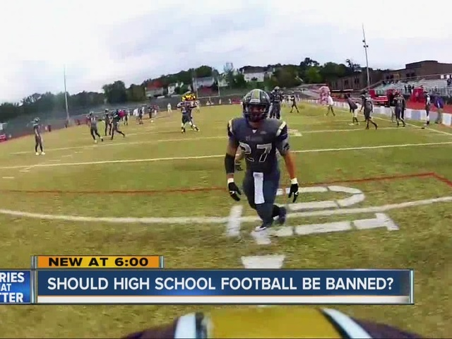 Should High School football be banned?