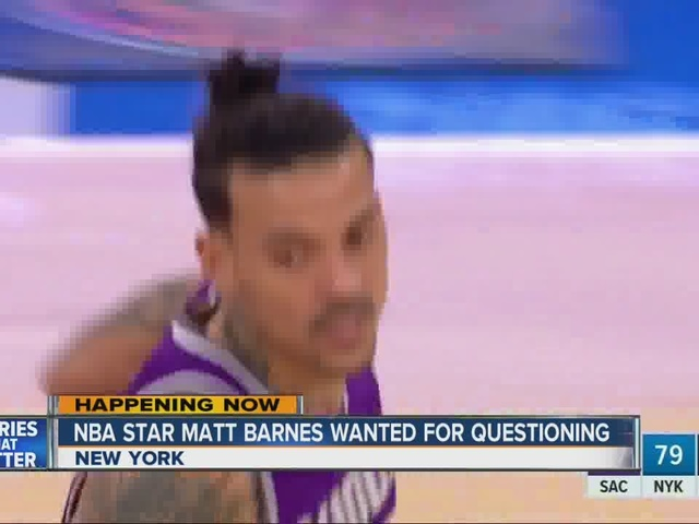 Matt Barnes accused of choking woman in nightclub