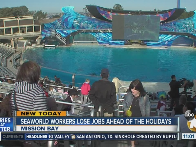 SeaWorld is eliminating 320 jobs