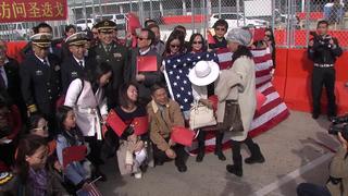 Chinese ships visit San Diego