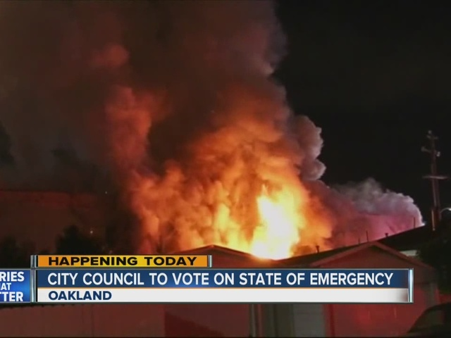 Deadly warehouse fire in Oakland: City Council to vote on State of Emergency