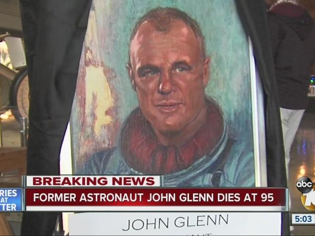 San Diego mourns loss of famed astronaut John Glenn