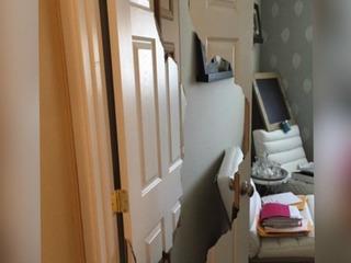 Doors smashed in series of Encinitas break-ins