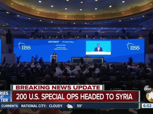 100 U.S. special ops headed to Syria