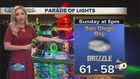 Forecast: Weekend Clouds and Light Rain