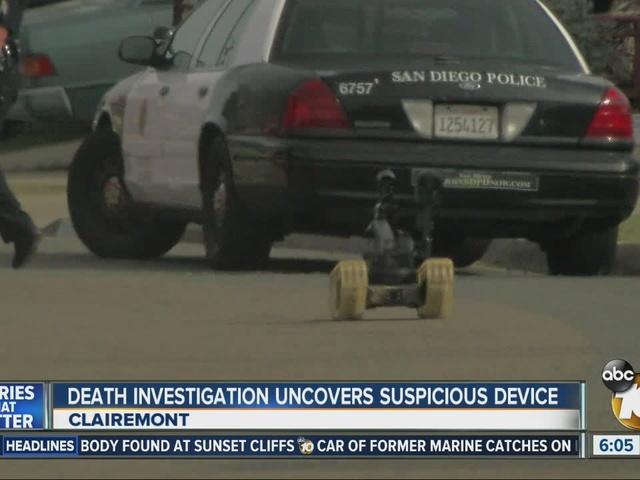 Death investigation uncovers suspicious device