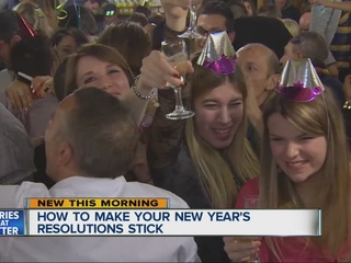 New Year's resolutions: How to make them stick