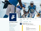 Twitter roasts Chargers' new, unofficial logo