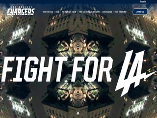 Chargers unveil new motto: 'Fight For LA'