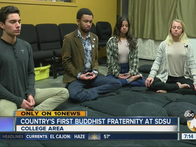 Country's first Buddhist fraternity at SDSU