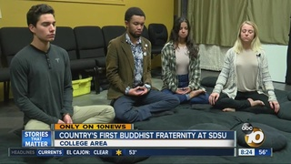 Country's first Buddhist fraternity sits at SDSU