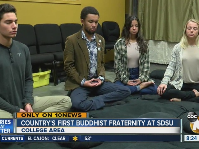 Country's first Buddhist fraternity