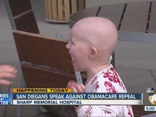 San Diegans speak against Obamacare repeal