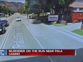 Suspect sought in early morning Pala homicide