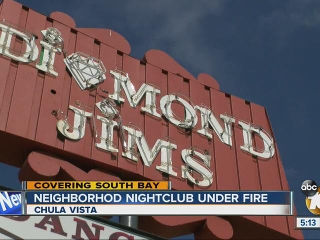 Neighborhood nightclub under fire