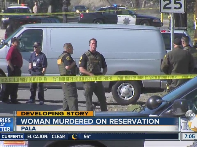 Woman murdered on Pala Reservation
