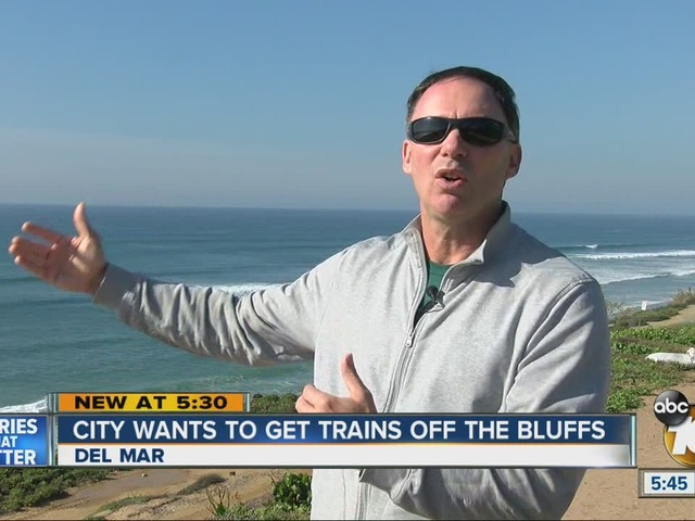 City wants to get trains off the bluffs