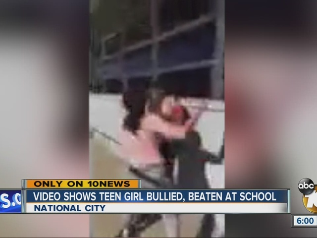 Video shows teen girl bullied, beaten at school