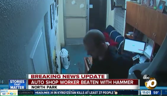 Man arrested in North Park hammer attack