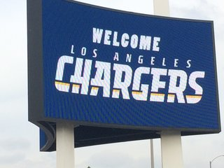 Los Angeles ceremony welcomes Chargers to city
