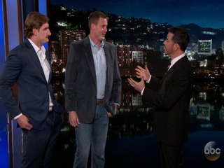 WATCH: Rivers, Bosa visit 'Jimmy Kimmel Live!'