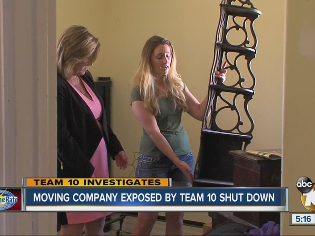 Moving company exposed by Team 10 shut down