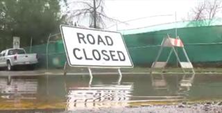 Heavy rains bring road closures to San Diego