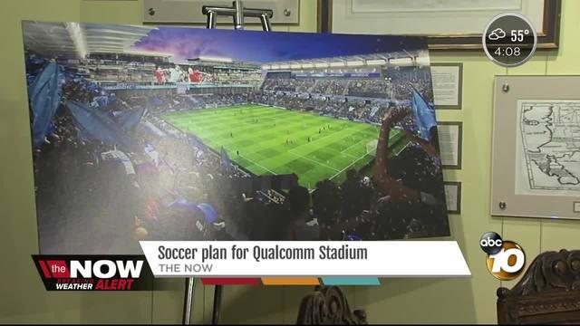 Soccer plan for Qualcomm Stadium
