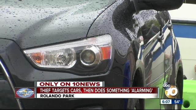 Thief targets Rolando Park cars- homes