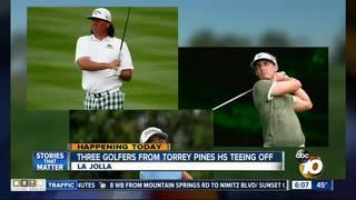 Torrey Pines High School alumni tee off at Open