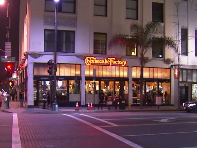 Police seek man who threw homemade explosive into California Cheesecake Factory