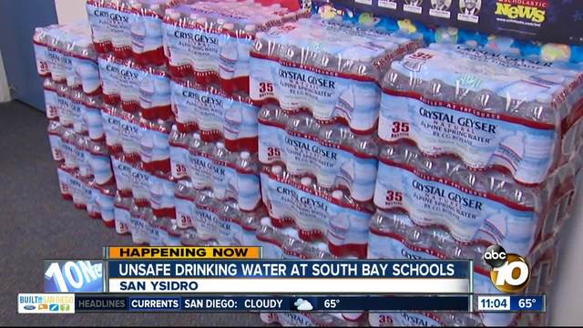 Drinking Water Shut Off At San Ysidro Schools Due High
