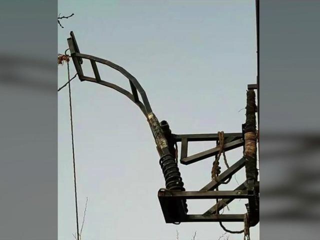 Drug catapult found at Arizona-Mexico border fence